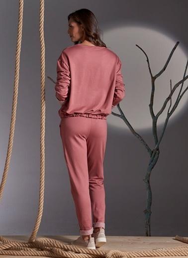 Gizzey Pijama Takım Kiremit